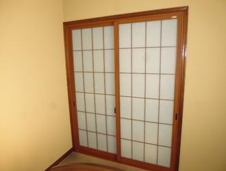 横浜市 港北区 和紙調二重窓(引き違いタイプ)取付 ☆H様邸サムネイル